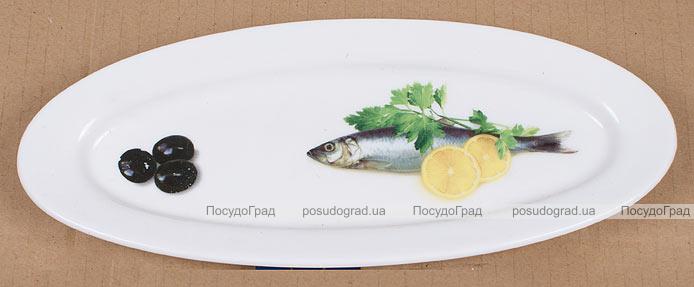 Блюдо для рыбы Sea Food Овальное 26х10см