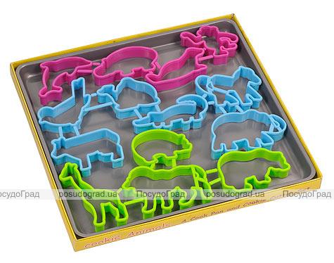 """Противень """"Cookie Animals"""" 14 форм для выпечки """"Зоопарк"""""""