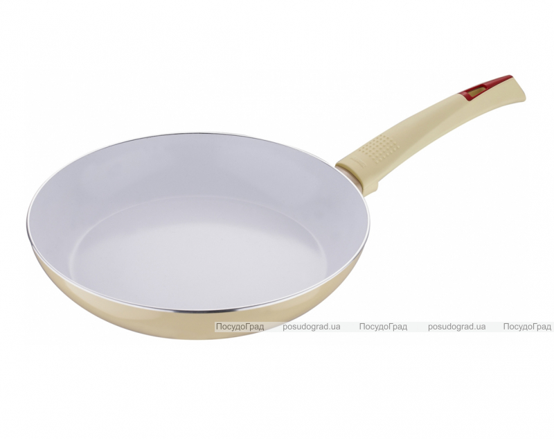 Сковорода Bergner Ultra CERA+ Ø20см, кремовая