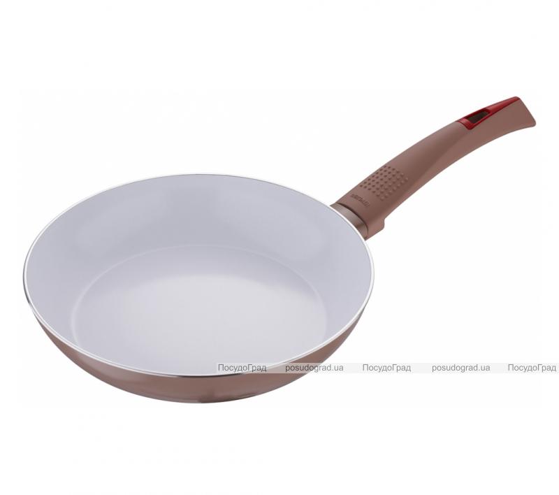 Сковорода Bergner Ultra CERA+ Ø20см, коричневая