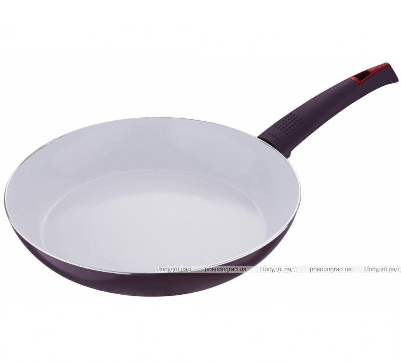 Сковорода Bergner Ultra CERA+ Ø22см, пурпурная