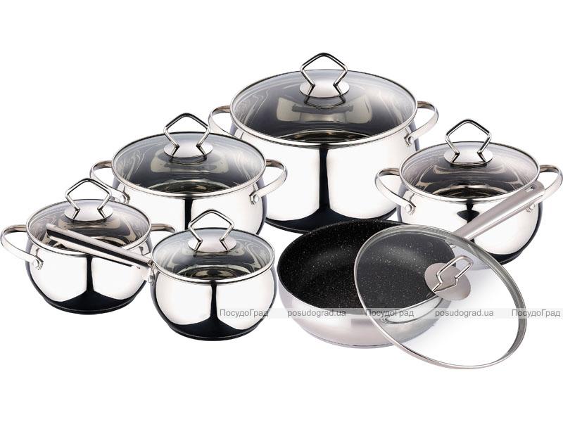 Набор посуды Wellberg Legend 12 предметов