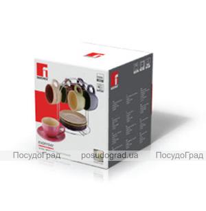 Чайный набор Bergner Colore 220мл 13 предметов