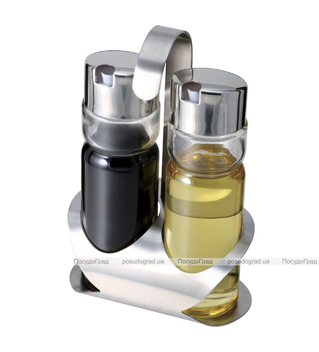 Набор для жидких приправ Bergner 1856 масло/уксус 3 предмета