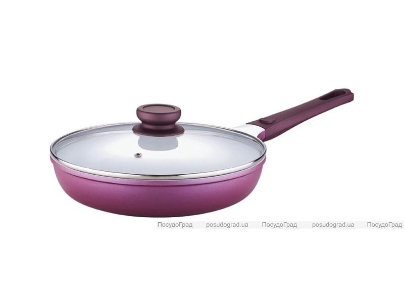 Сковорода с крышкой Bergner Vioflam Ø24х5,3см