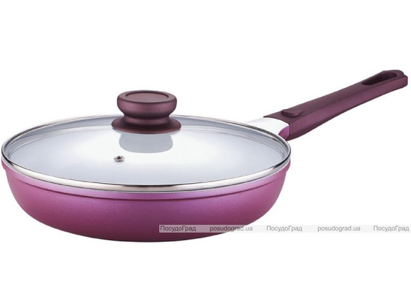 Сковорода с крышкой Bergner Vioflam Ø28х5,6см