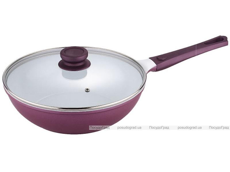 Сковорода-вок с крышкой Bergner Ø28х8,1см Vioflam