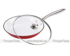 Сковорода Bergner Эмалированный чугун 28х5,5см