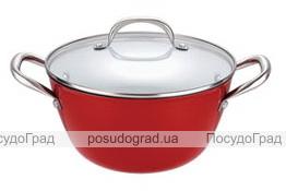 Кастрюля-казан Bergner Эмалированный чугун 2,1л