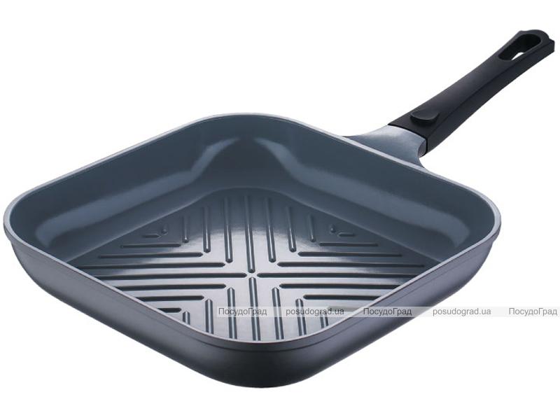 Сковорода-гриль Bergner Nanoflam 28х28см с керамическим покрытием