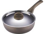 Сковорода-сотейник Bergner Contempo Professional 2 Ø24см со стальной крышкой