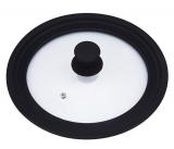 Универсальная крышка Bergner для посуды Ø16/Ø18/Ø20см стеклянная