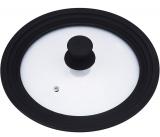 Универсальная крышка Bergner для посуды Ø24/Ø26/Ø28см стеклянная