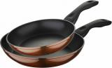Набір 2 сковороди Bergner Neon Bronze Ø22см і Ø26см