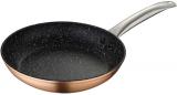 Сковорода Bergner Dafne Ø24см індукційна з мармуровим антипригарним покриттям, мідний