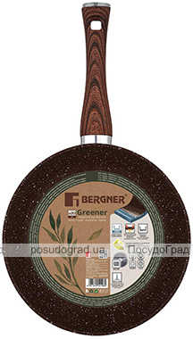 Сковорода Bergner Greener Ø28см з мармуровим покриттям