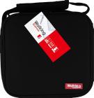 Ланч-бокс Bergner Delicacy Lunch 5 предметов в сумке, черный 23х22х13.5см