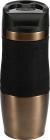 Термокружка Bergner Neon Bronze 400мл с силиконовой накладкой