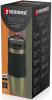 Термокружка Bergner Neon Green 400мл с силиконовой накладкой