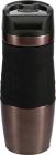 Термокружка Bergner Neon Violet 400мл з силіконовою накладкою