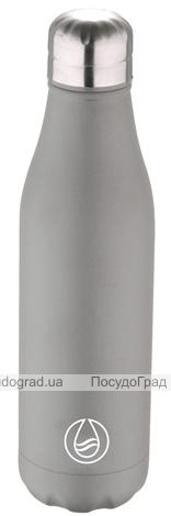 Термос-пляшка Bergner Walking Anywhere 500мл, сіра