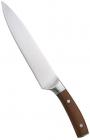 Нож поварской Bergner Wolfsburg 20см с деревянной ручкой
