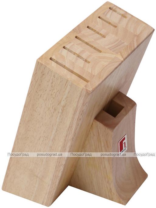 Колода-подставка для ножей Bergner деревянная, 7 секций