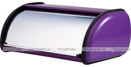 Хлібниця Bergner Gilmer Purple 36х24х15см з нержавіючої сталі