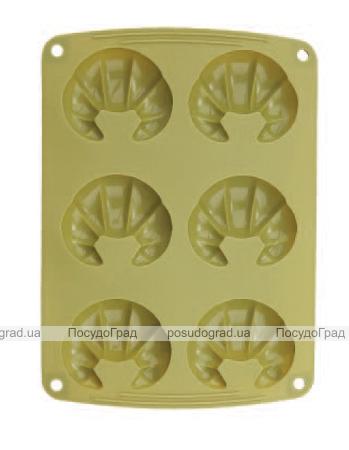 Форма силиконовая для выпечки Bergner 6 рогаликов