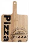 Дошка обробна Bergner Pizza 40х30см дерев'яна