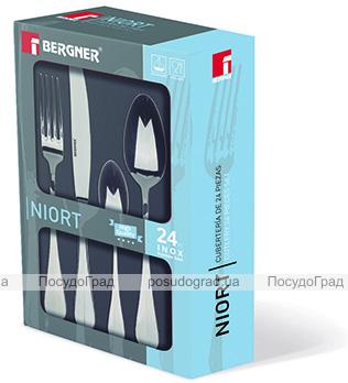 Набір столових приборів Bergner Niort 24 предмета на 6 персон