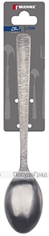 Набор 3 столовые ложки Bergner Lyon, нержавеющая сталь