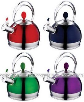 """Чайник Bergner """"Genoa Silicone"""" 2,5 литра"""
