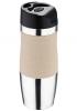 Термокружка Bergner Vacuum Travel 400мл з силіконовою накладкою