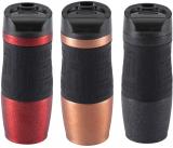 Термокружка Bergner Travel 400мл с силиконовой накладкой
