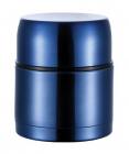 """Термос Bergner """"Ланч-бокс"""" 1000мл с клапаном давления, синий"""