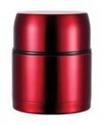 """Термос Bergner """"Ланч-бокс"""" 1000мл с клапаном давления, красный"""