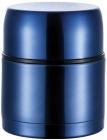 """Термос Bergner """"Ланч-бокс"""" 1200мл з клапаном тиску, синій"""