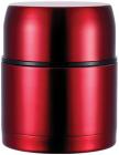 """Термос Bergner """"Ланч-бокс"""" 1200мл с клапаном давления, красный"""