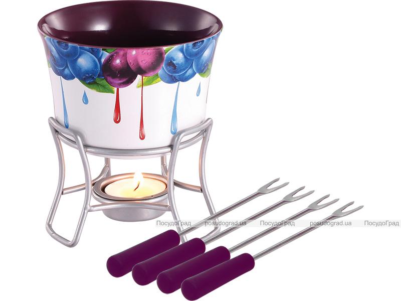 Набор для шоколадного фондю Bergner 6149 Hot Chocolate 6 предметов