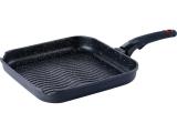 Сковорода-гриль Bergner Silicon-Marmo 28х28см с силиконовой ручкой
