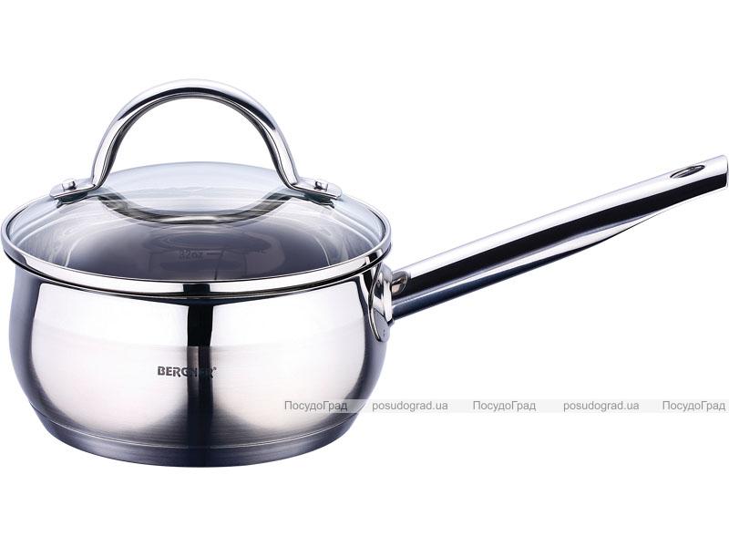 Ковш Bergner Gourmet 1,3л с крышкой
