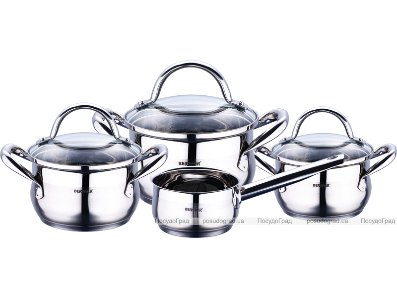 Набор посуды Bergner Gourmet 7 предметов