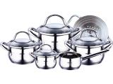 Набор кухонной посуды Bergner Gourmet 10 предметов с мультиразмерной пароваркой