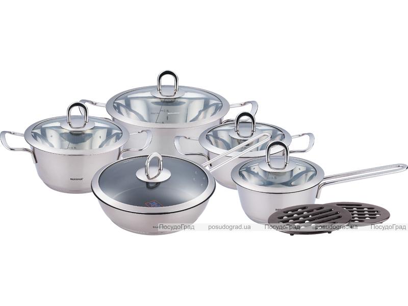 Набор кухонной посуды Bergner Cone 12 предметов
