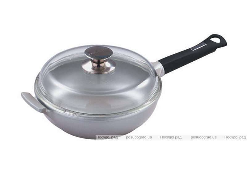 Сковорода-сотейник Bergner Silver Edge 28см