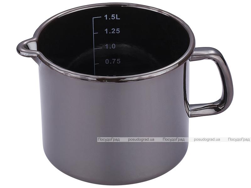 Кружка-ковш Bergner Titanium 1,5л с мерной шкалой