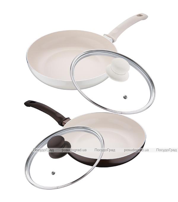 Сковорода White&Brown Ø24см с керамическим покрытием CERA+