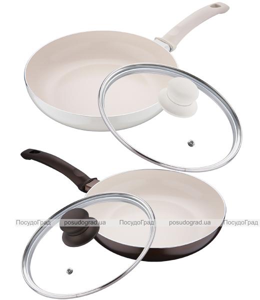 Сковорода White&Brown Ø28см с керамическим покрытием CERA+