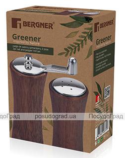 Набор для специй Bergner Greener спецовник и мельница